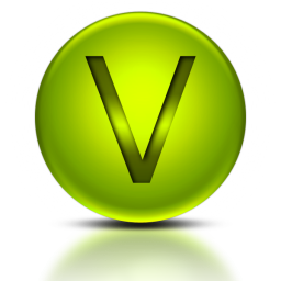 071916-green-metallic-orb-icon-alphanumeric-letter-vv